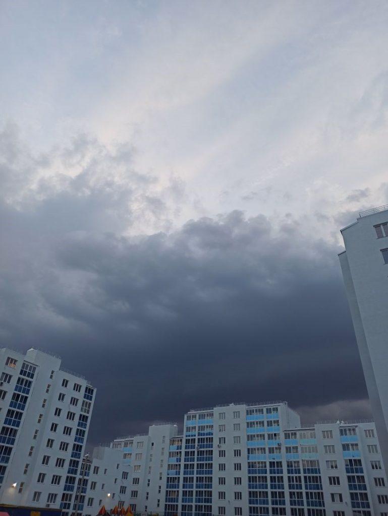 Резкая смена погоды 26.07.2021